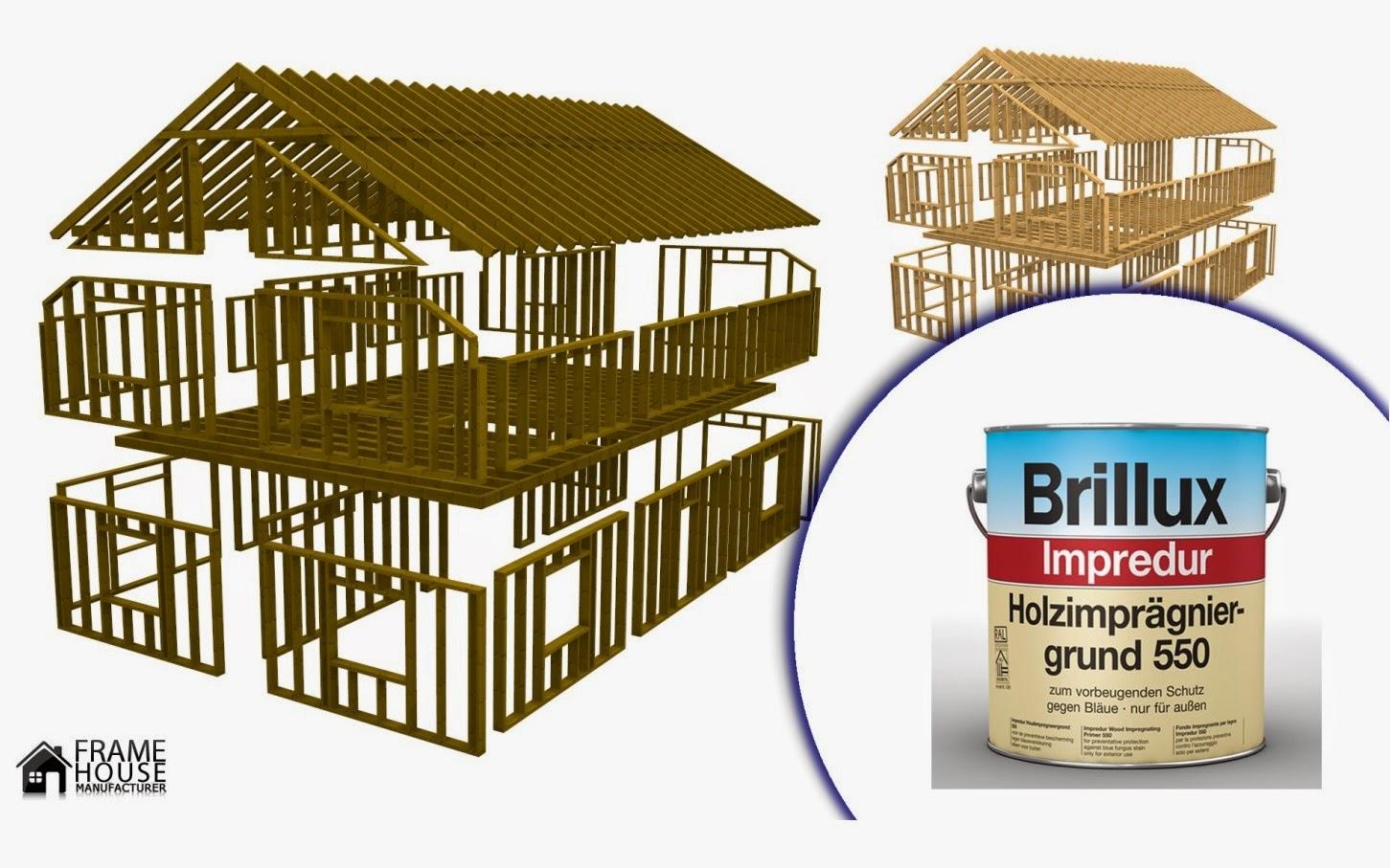 frame house d partement francophone pourquoi il faut traiter le bois s il est bien s ch. Black Bedroom Furniture Sets. Home Design Ideas