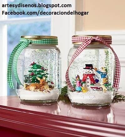Como hacer adornos navide os caseros decoraci n del hogar - Adornos de navidad caseros faciles ...