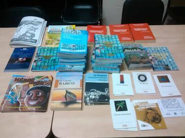 Ibime recibió dotación de libros en diferentes áreas del conocimiento