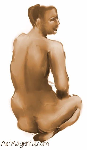 Life Drawing, Croquis from ArtMagenta