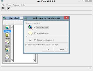 Cara Instal ArcVIEW 3.3 di Windows 8 Pro 32/64Bit