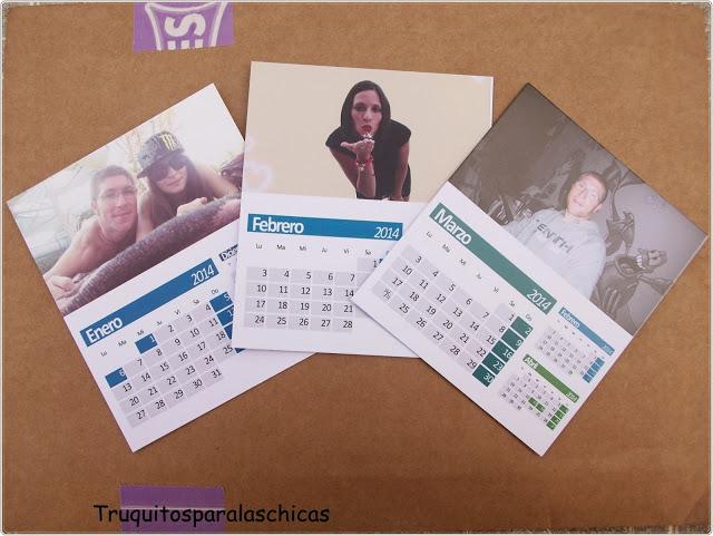 fotos Calendarios personalizados