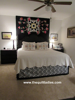 How to make a bed ruffle by The Quilt Ladies