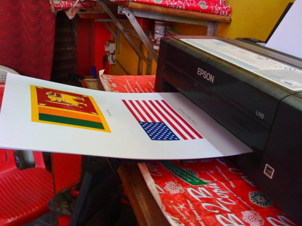 Epson Colour Printer High Quality Printing on Photo Paper