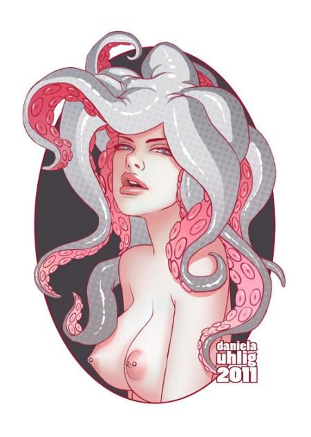 daniela uhlig ilustrações mulheres sensuais eróticas fetiche
