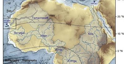 Δίκτυο αρχαίων ποταμών αποκαλύφθηκε κάτω από τη Σαχάρα