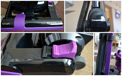 Panasonic JetForce Cyclonic upright features