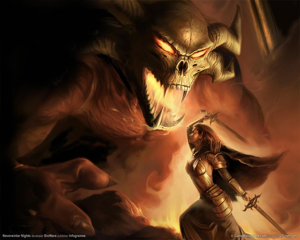 Neverwinter Nights HD & Widescreen Wallpaper 0.955381213548158