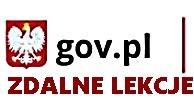 ZDALNE LEKCJE  gov.pl