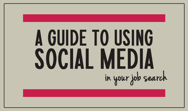 A Guide to Using Social Media in your Job Search