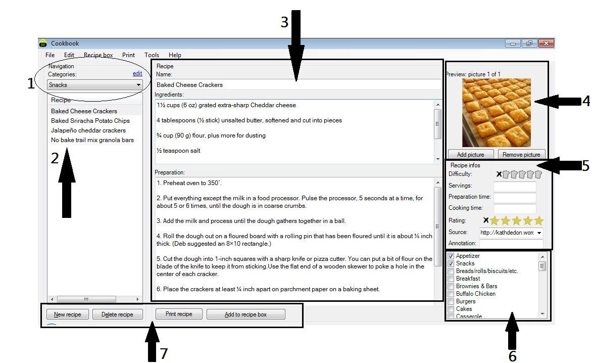 Free Recipe Organizer Software