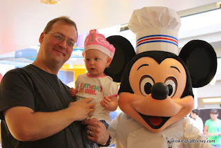 Chef Mickey, birthday at Walt Disney World
