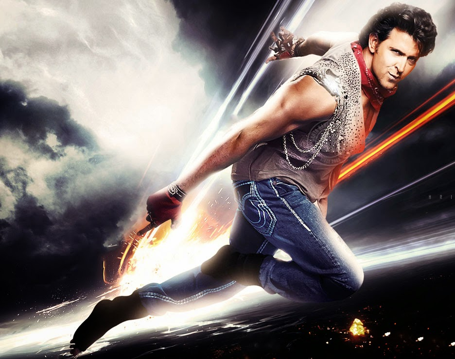 Hrithik Roshan in super action