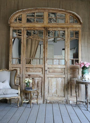 puerta vintage decapado shabby