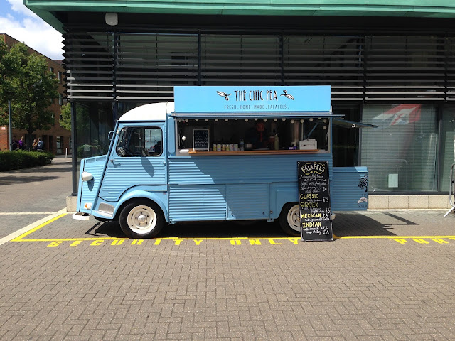 Food van, Queen Mary's University, East London