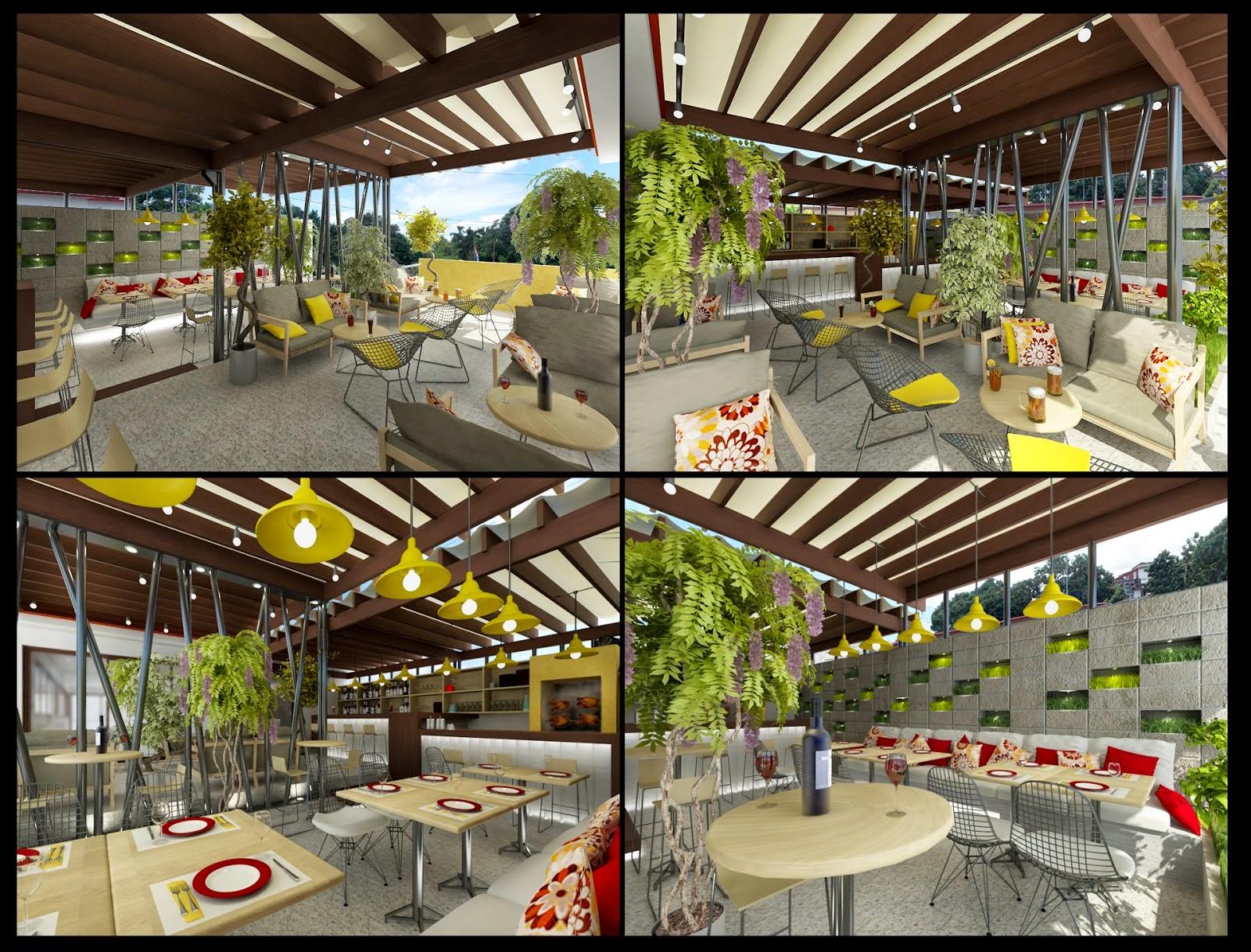 Dag arquitectos restaurante en montebarreto for Restaurante arquitectura