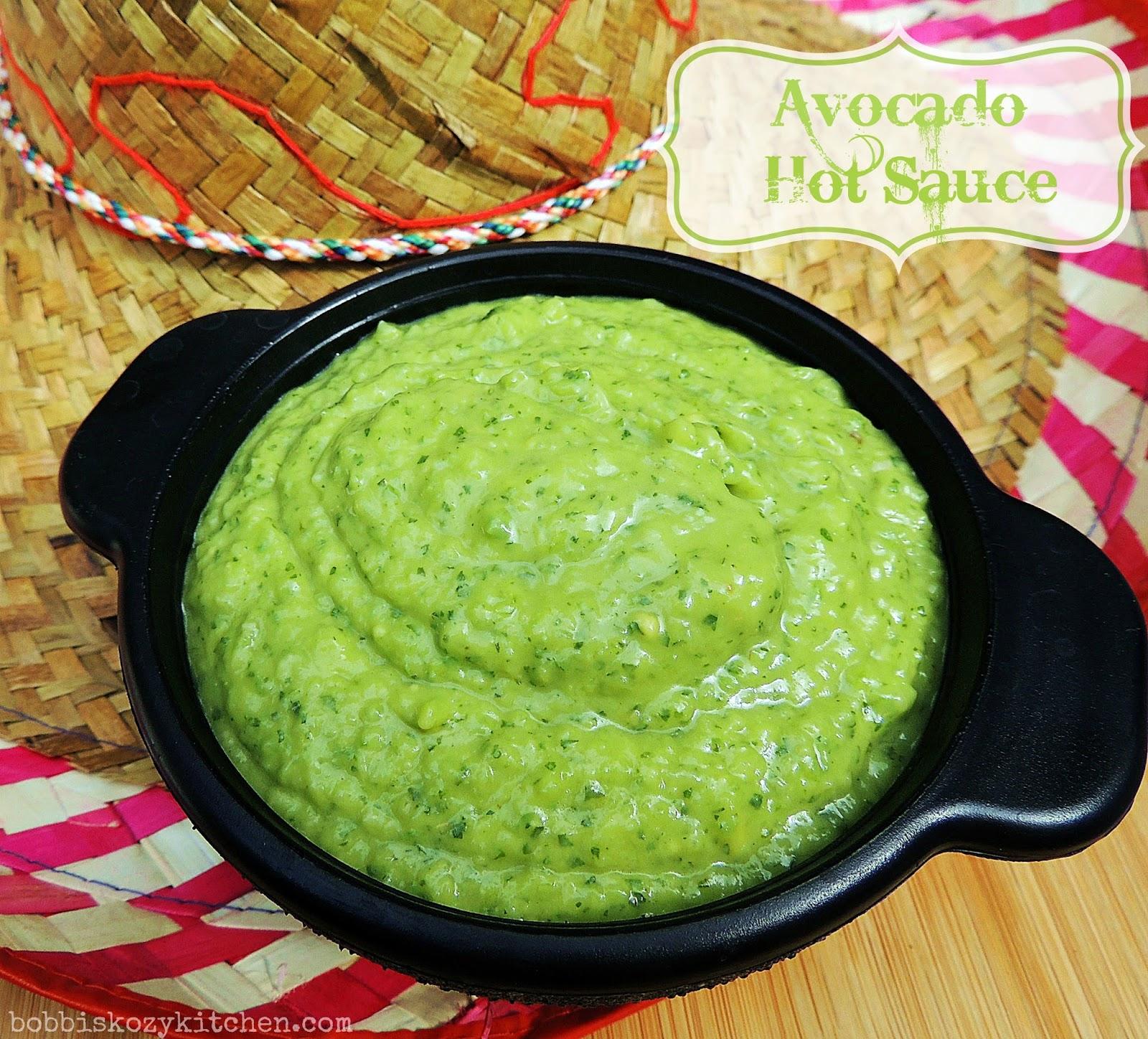 Avocado hot sauce bobbis kozy kitchen avocado hot sauce sciox Images