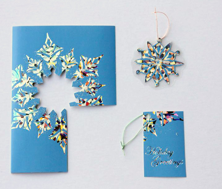 Ruffles And Stuff~: Recycling Christmas Cards
