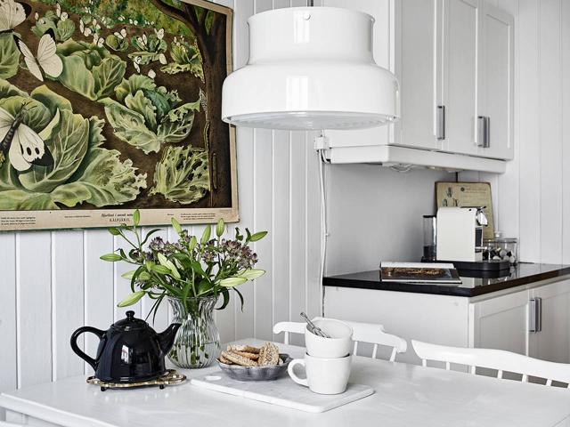 Espacio para perderse: una casa sueca con alma