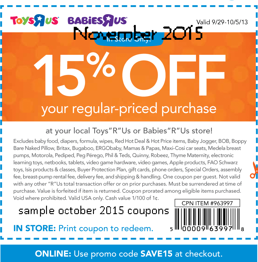 Babies r us online coupon code