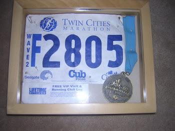 My first marathon...