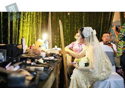 Gambar Sekitar Pertunangan Fauziah Gous