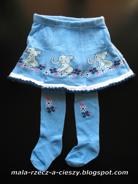 Rajstopki ze spódniczką - prezentem dla dziewczynki