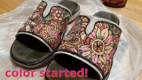 zentangled sandals 2