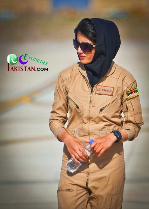 Niloofar Rahmani First Pakistani Female Pilot
