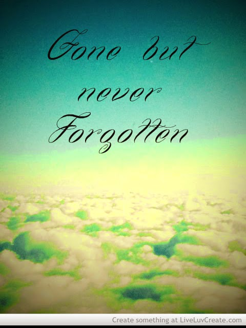 Dealing With Death Gone But Never Forgotten