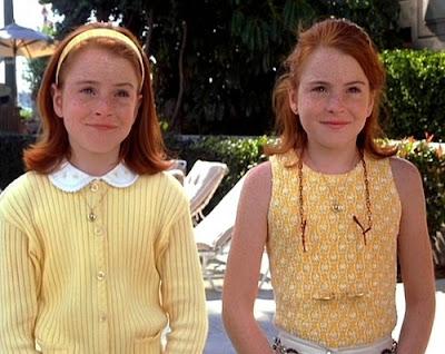 the parent trap, annie and hallie, glitter daiquiri, parent trap style, 1998
