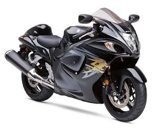 Suzuki HAYABUSA (มอเตอร์ไซต์เร็วที่สุดในโลก)