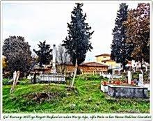 Çal Eski Mezarlıkta Necip Bey, Evlatlarından havva ve Emin DEDA' nın Mezarları