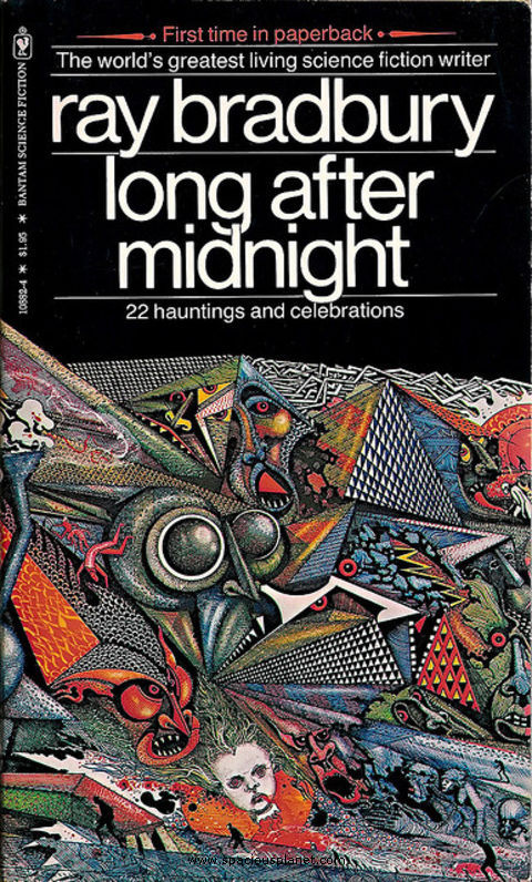 Ray Bradbury Long After Midnight awesome classic sci-fi book cover