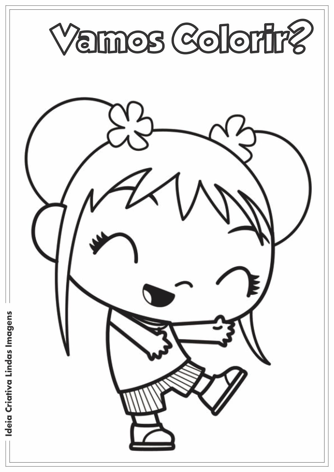 Ni Hao, Kai-Lan desenho pra colorir