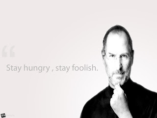 Steve Jobs Stay Hungry Stay Foolish HD Wallpaper