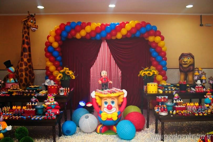 Mesa Clean Festa Circo