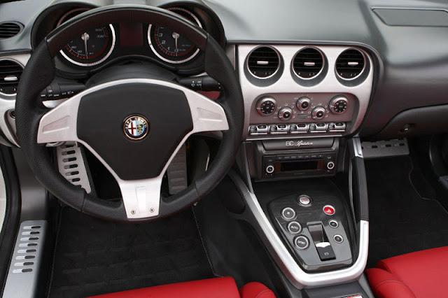 2009-Alfa-Romeo-8C-Spider-Interior-front