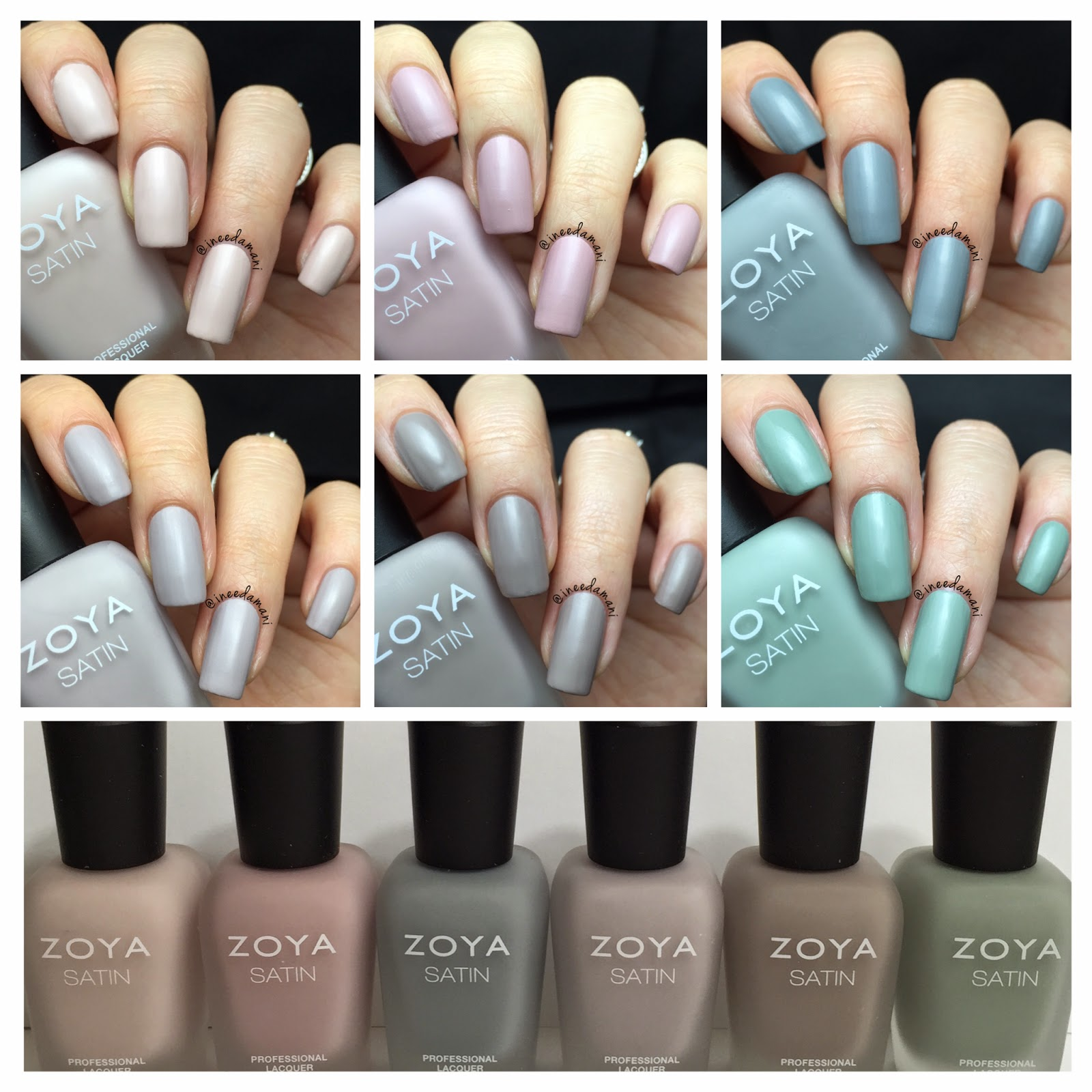 zoya naturel satin