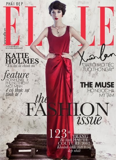 elle vietnam september 2012 cover