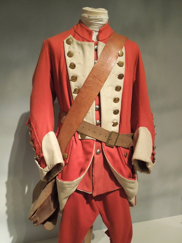 Barry Lyndon British regimental soldier costume