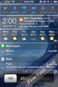 IntelliScreenX 6 v6.01.07 - iPhone Family World