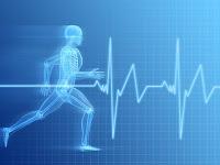 Running Man and cardiograph