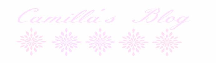 Camilla's Blog