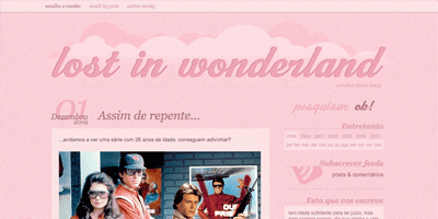 pink color website