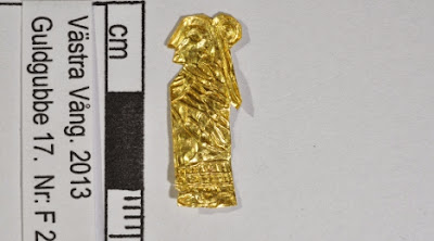 Viking-age 'gold men' unearthed in Sweden