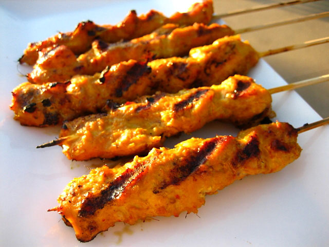 FRUGAL FITNESS ®: Delish Chicken Satay