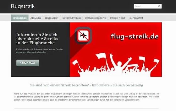 http://www.flug-streik.de/