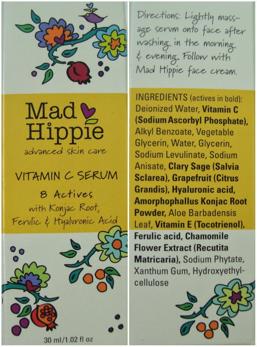 Mad Hippie Skin Care Products Vitamin C Serum