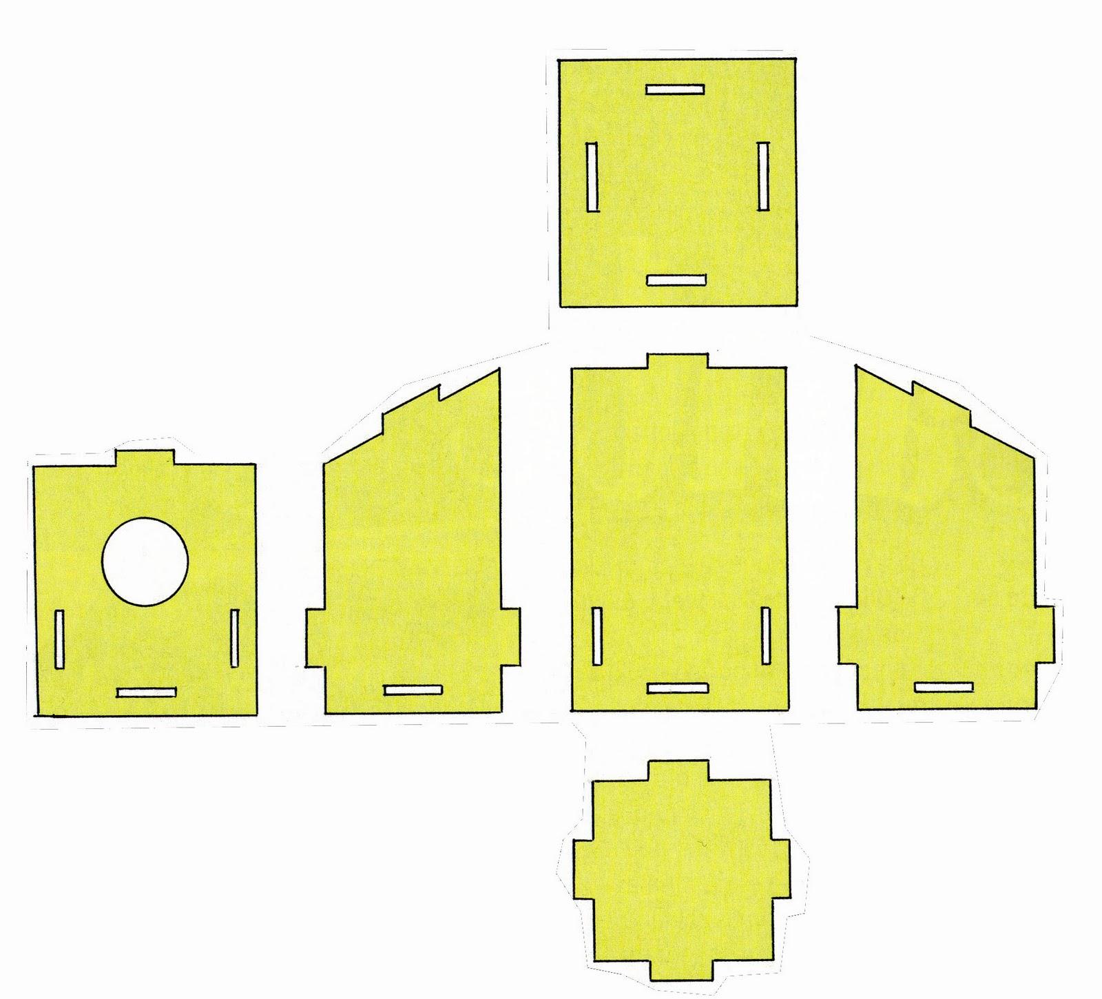 El taller de pepa casitas para p jaros - Casa para pajaros ...